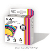 Dodz 3L Adhesive Dots Medium 300ct