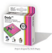 Dodz 3L Adhesive Dots Small 300ct