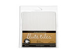 C Flute White Corrugated Tiles - Canvas Corp