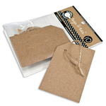 Kraft Tags & Ties Corner - Canvas Corp