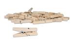 Natural Mini Clothespins - Canvas Corp