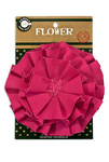 Hot Pink Canvas Flower - Canvas Corp