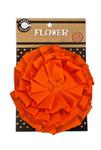 Orange Canvas Flower - Canvas Corp