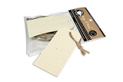 Speckled Skinny Tags & Ties - Canvas Corp