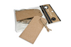 Kraft Cardstock Tags Tags & Ties - Canvas Corp 10 tags per package approx 1.5  x 2.5