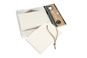 Speckle Corner Tags & Ties - Canvas Corp