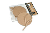 Kraft Round Tags & Ties - Canvas Corp