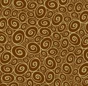Swirl Reverse Paper - Chocolate & Kraft - Canvas Corp