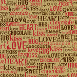 Kraft Love Words Paper - Canvas Corp