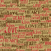Kraft Love Words Paper - Canvas Corp