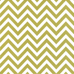 Chevron Paper - White On Kraft - Canvas Corp