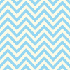 Blue & Ivory Chevron Paper - Canvas Corp
