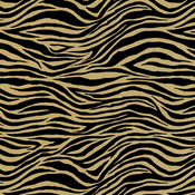 Zebra Black & Kraft Paper - Canvas Corp