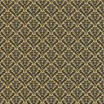 Damask Black & Kraft Paper - Canvas Corp