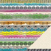 Carmine Collage Paper - Amy Tangerine - Sketchbook