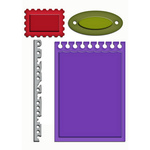 Office Supplies Die Templates - Shapeabilities - Spellbinders