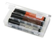 X - Small 3-Compartment Clear Solutions Storage Box - ArtBin