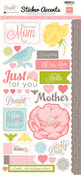 Dearest Mom Cardstock Stickers - Echo Park