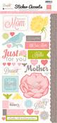 Dearest Mom Cardstock Stickers - Echo Park