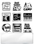 Mini Van Mom Inchie Bundle Clear Stamp