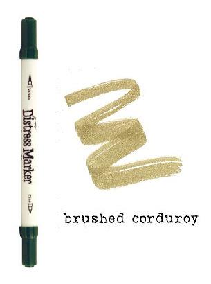 Brushed Corduroy Dual Tip Distress Marker - Tim Holtz
