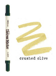 Crushed Olive Dual Tip Distress Marker - Tim Holtz
