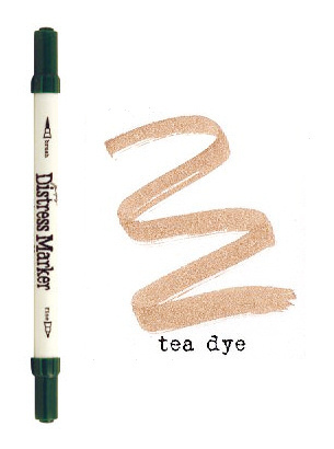 Tea Dye Dual Tip Distress Marker - Tim Holtz