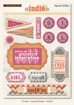 Create Layered Stickers - Indie Chic - My Minds Eye