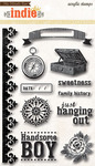 Hanging Out Clear Stamps
