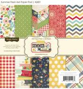 Summer Fresh 6 x 6 Paper Pad - Simple Stories