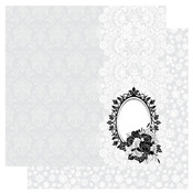 Beauty In The Mirror  - Pleasure Moments  Glitter Paper