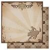 Sheriff  - Cowboy  Glitter Paper