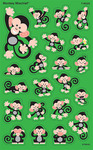 Black Monkey Stickers - Trend