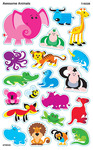 Awesome Animals Stickers - Trend