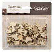 Wood Veneer Birds - Take Note Collection - Studio Calico