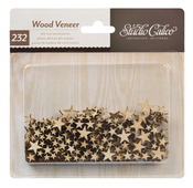 Wood Veneer Stars - Studio Calico