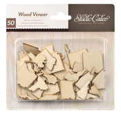 Wood Veneer 50 States - Abroad Collection - Studio Calico