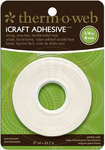 iCraft Adhesive 1/4in Tape Roll - Therm O Web
