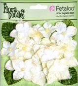 Cream Velvet Hydrangea Flowers - Petaloo