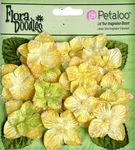 Yellow Velvet Hydrangea Flowers - Petaloo