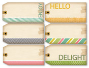 Lovely Day Luggage Tags - Chic Tags
