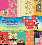 Disney Mickey Family Specialty 12x12 Paper Pad