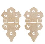Medium Hinges Wood Flourish - Kaiser Craft
