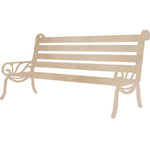 Bench Set Wood Flourish - Kaiser Craft