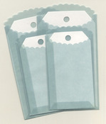 Blue Vellum Envelopes And Tags - Melissa Frances
