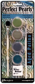 Faux Metal Aged Patina Pigment Powder Kit - Perfect Pearls - Ranger