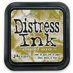 Crushed Olive Distress Ink Pad - Tim Holtz