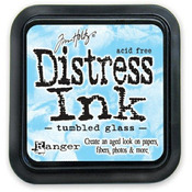 Tumbled Glass Distress Ink Pad - Tim Holtz