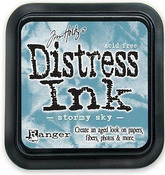 Stormy Sky Distress Ink Pad - Tim Holtz