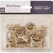 Hey Day Wood Veneer Shapes - Studio Calico